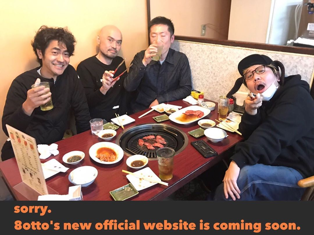 sorry. 8otto's new official website is coming soon. >>>>>>>> 8otto.jp  #8otto